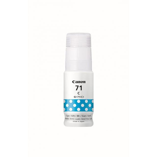 CANON Tinta Botol CANON GI71 (Cyan)