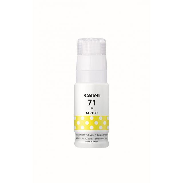 CANON Tinta Botol CANON GI71 (Yellow)