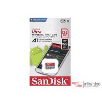 Memory card SanDisk Ultra MicroSDXC UHS-I A1 128GB Class 10 Kartu Memori MMC Original Asli Termurah Best Produk Terlaris Sleman Jogja Yogyakarta.