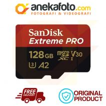 Sandisk SDXC Extreme Pro Micro 128 GB 170 MB A2