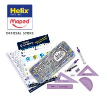 maped Limited Edition - Helix Oxford Maths Set Splash  Purple - Hang Pack