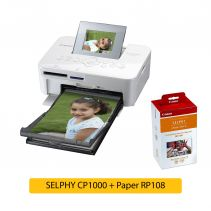 SELPHY CP1000 + Paper RP108