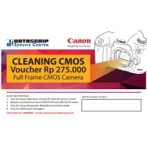 Service Package Voucher Cleaning Cmos Full Frame Canon Camera