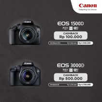 CANON EOS 1500D DSLR With Lens 18-55mm IS II