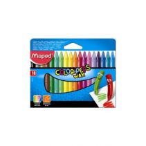 MAPED Wax Crayon Set 18 - Shrink