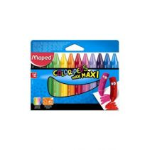 MAPED Wax Crayon Maxi Set 12