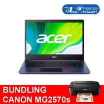 [BUNDLING] Acer Aspire 5 A514-53-3852 + Canon Printer MG2570s