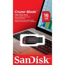 Sandisk Flashdisk Cruzer Blade 16GB USB 2.0