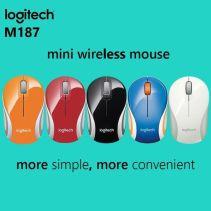 Logitech M187 Wireless Mouse Black
