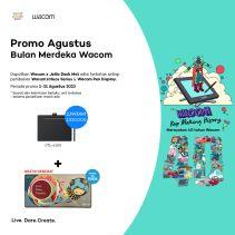 Wacom Intuos Medium size CTL6100 non wireless & Softcase Murah Ori - UNIT ONLY