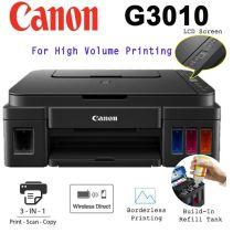 CANON PRINTER G-3010 INKJET