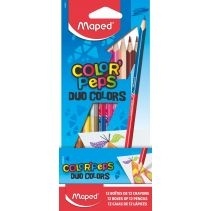 MAPED COLOR PEPS 12W DUO 12-24 WARNA