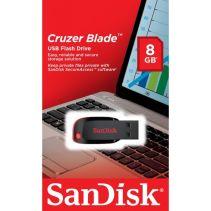 Sandisk Flashdisk Cruzer Blade 8GB USB 2.0