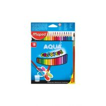 MAPED Water Color Pencils X18 - Cardboard