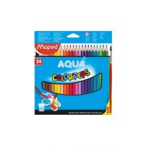 MAPED Water Color Pencils X24 - Cardboard