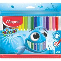 MAPED COLOR PEPS OCEAN 18W PLASTIK 845721@72