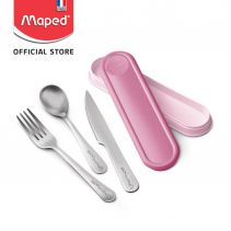 Maped Cutlery Box - Tender Rose