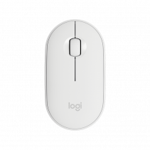 LOGITECH Wireless Mouse M350 Pebble - Off White