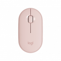 LOGITECH Wireless Mouse M350 Pebble - Rose