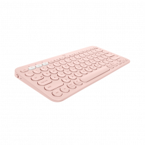 LOGITECH K380 MultiDevice Keyboard - Rose