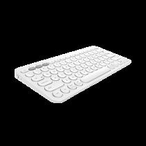 LOGITECH K380 MultiDevice Keyboard - Off White