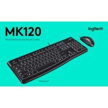 LOGITECH MK120 Combo Desktop For Business