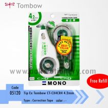TIP EX TOMBOW CT-CX4CR4 4.2MM + REFILL
