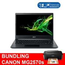 Bundling Acer Aspire 5 A514-53-32F7 + Canon MG2570s