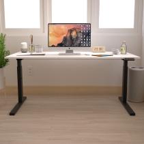 FIRM Flexmo High-Adjustable Desk - White