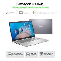 ASUS A416JA-VIPS351 Ci3-1005G1 4GB 512GB SSD W10 HOME + OPI