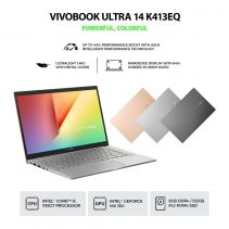 ASUS K413EQ-EB551TS Ci5-1135G7 8GB 512G SSD VGA MX350  2GB W10 HOME + OHS 2019