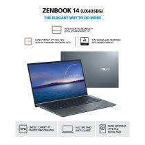 ASUS Zenbook Classic UX435EG-AI711NP-90NB0SI7-M02570 CI7-1165G7 16GB 1TB SSD VGA MX450 2GB  W10 + OHS 2019