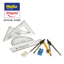 Maped Helix Oxford Maths Set Red - Hang Pack