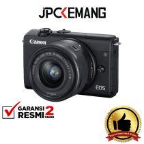 Canon EOS M200 Kit 15-45mm Black GARANSI RESMI