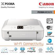 Canon Printer Pixma MG5670 White