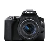 CANON EOS 200D II With Lens 18-55mm IS STM - Black