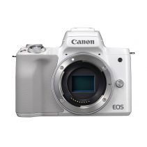 CANON EOS M50 Mirrorless Digital Camera - Body Only - White
