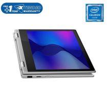 LENOVO IdeaPad Flex 3 11IGL05 - 82B2000NID - Platinum Grey [Intel Celeron N4020 / 4G / SSD 256G / HD / Touchscreen / 11.6inch / Win10 / OHS]