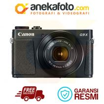 Canon Power Shot G9X Mark II - BLACK