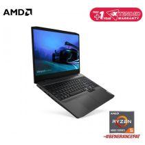 LENOVO GAMING3 15ARH05 82EY00SGID - Black [AMD Ryzen5-4600H / GTX1650Ti / 16G / SSD 512G / 15.6inch / FHD / Win10 / OHS] Black