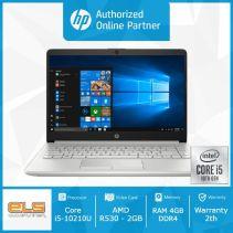 HP 14s-cf2032TX - Silver [i5 10210U-4GB-SSD 512GB-R530-W10-OHS]