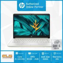 HP 14s-cf2033TX - Gold [i5 10210U-4GB-SSD 512GB-R530-W10-OHS]