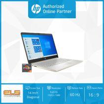 HP 14s-fq0021AU - Gold [Ryzen 3 3250U-8GB-SSD 512GB-W10-OHS]