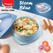 Maped Adult Lunch Plate 0.9 L - Storm Blue