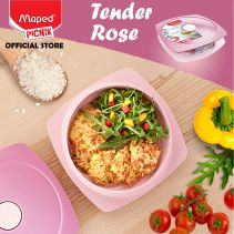 Maped Adult Lunch Plate 0.9 L - Tender Rose