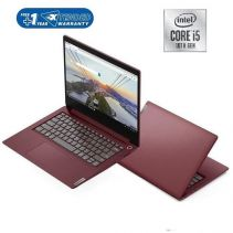 LENOVO IP SLIM 3-14IIL05 Notebook - Cherry Red [Intel Core i5-1035G1 / 8G(4GBx2) / SSD 512GB / 14inch / Win10 / OHS]