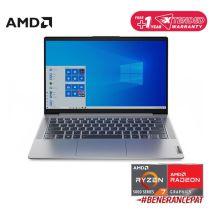 LENOVO IdeaPad 5 14ALC05 82LM002BID - Platinum Grey [AMD Ryzen 7-5700U / 8GB / 512GB / 14inch / FHD / Win10 / OHS]