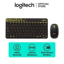 Logitech MK-240 Nano Wireless Combo Black/Chartreuse