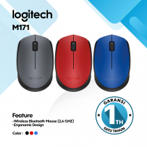 Logitech M171 Wireless Mouse Red