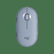 LOGITECH Wireless Mouse M350 Pebble - Blue Grey